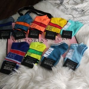 10 pairs Victoria's secret socks